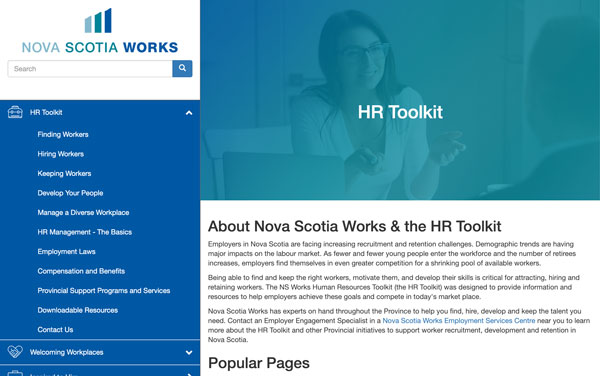 Nova Scotia Works HR Toolkit